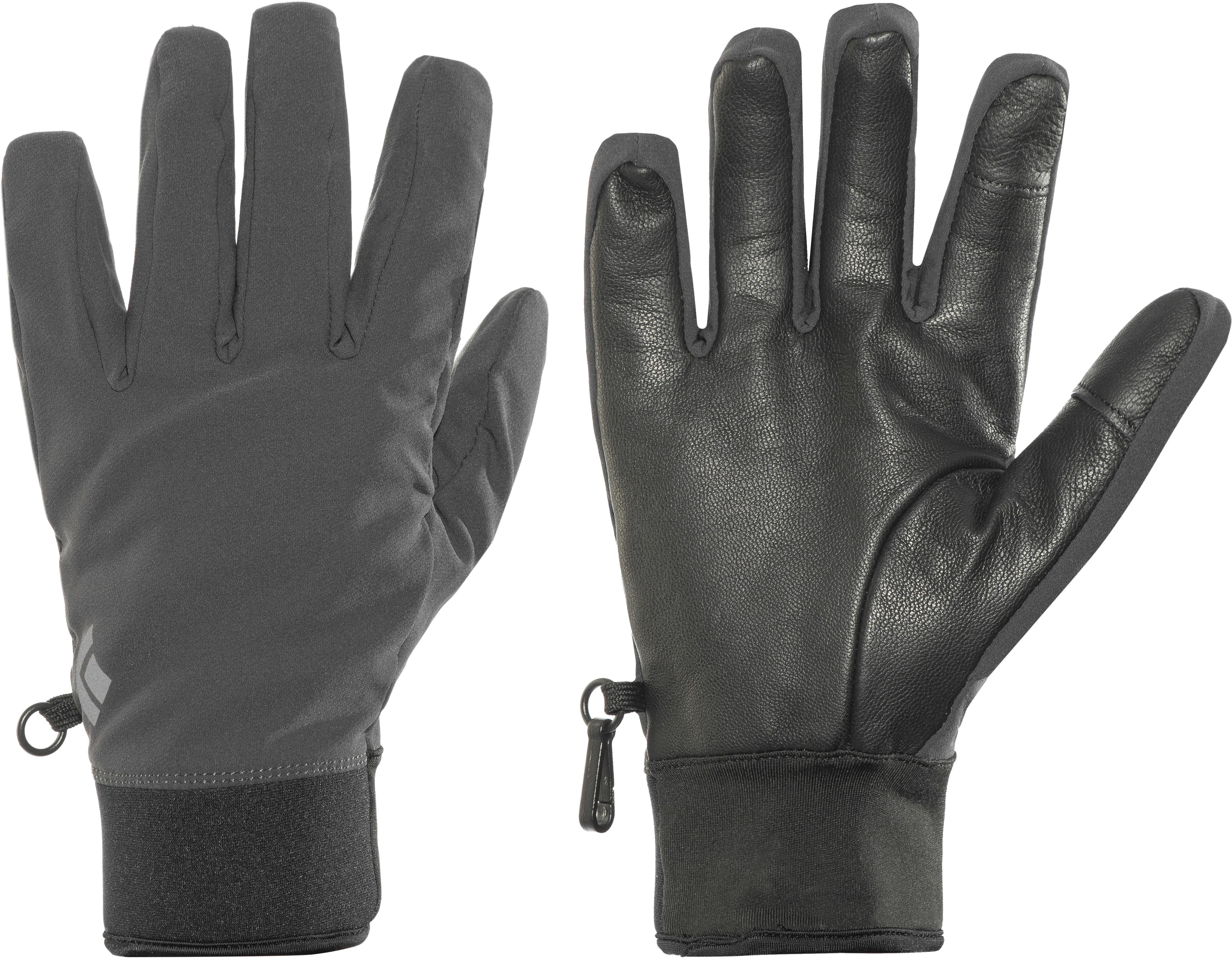 Black Diamond Midweight Gloves black at Addnature.co.uk 34671e5f42c